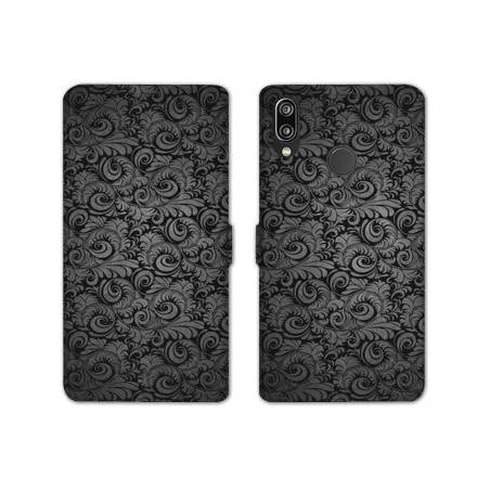 RV Housse cuir portefeuille Huawei Y6 (2019) / Y6 Pro (2019) Texture