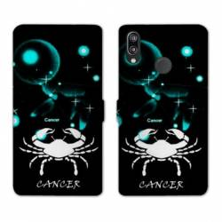 RV Housse cuir portefeuille Huawei Y6 (2019) / Y6 Pro (2019) signe zodiaque