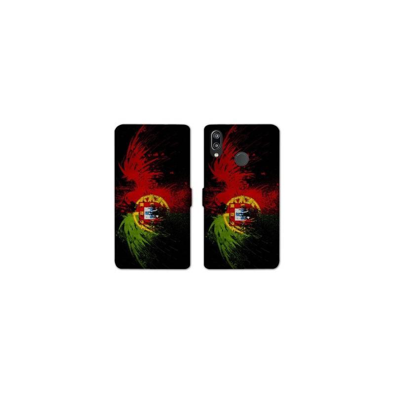 RV Housse cuir portefeuille Huawei Y6 (2019) / Y6 Pro (2019) Portugal