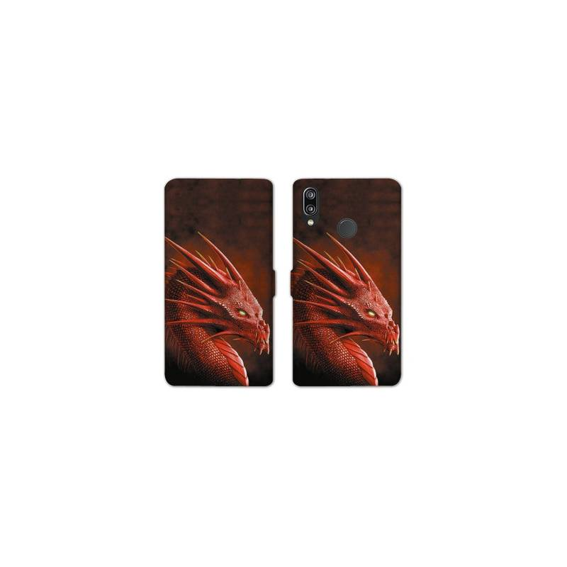 RV Housse cuir portefeuille Huawei Y6 (2019) / Y6 Pro (2019) Fantastique
