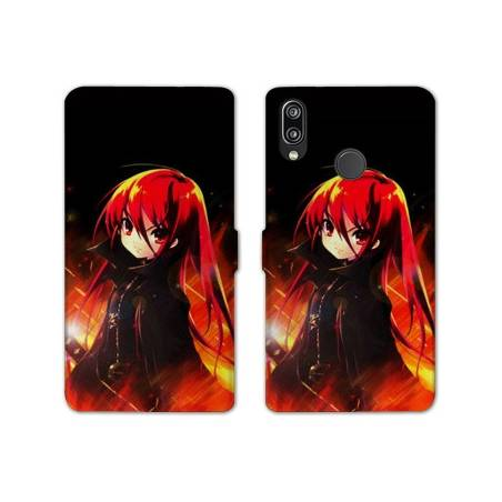 RV Housse cuir portefeuille Huawei Y6 (2019) / Y6 Pro (2019) Manga - divers