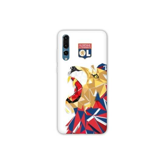 Coque Samsung Galaxy A50 License Olympique Lyonnais OL - lion color