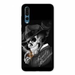 Coque Samsung Galaxy A50 tete de mort
