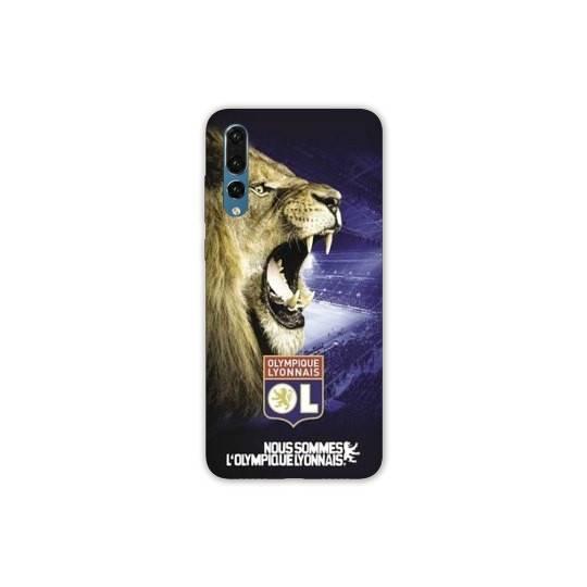 Coque Samsung Galaxy A70 Licence Olympique Lyonnais - Rage de vaincre