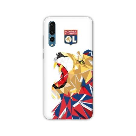 Coque Samsung Galaxy A70 License Olympique Lyonnais OL - lion color