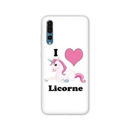 Coque Samsung Galaxy A70 Licorne