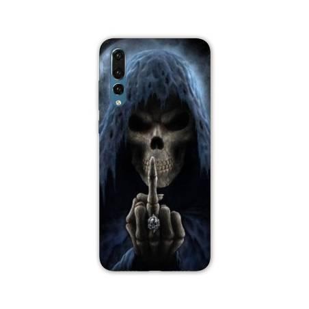 Coque Samsung Galaxy A70 tete de mort