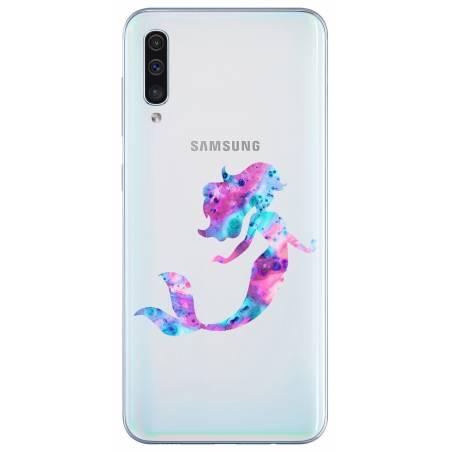 Coque transparente Samsung Galaxy A50 Sirene