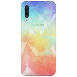 Coque transparente Samsung Galaxy A50 Origami
