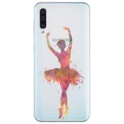 Coque transparente Samsung Galaxy A50 Danseuse etoile