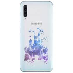 Coque transparente Samsung Galaxy A50 Chateau