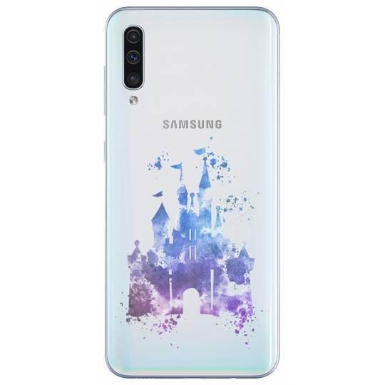 Coque transparente Samsung Galaxy A50 Chateau