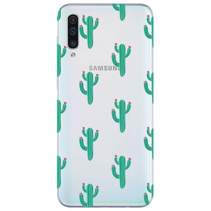 Coque transparente Samsung Galaxy A50 Cactus
