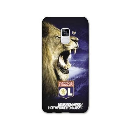 Coque Samsung Galaxy J6 PLUS - J610 Licence Olympique Lyonnais - Rage de vaincre