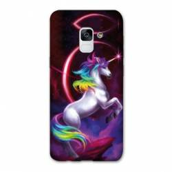 Coque Samsung Galaxy J6 PLUS - J610 Licorne