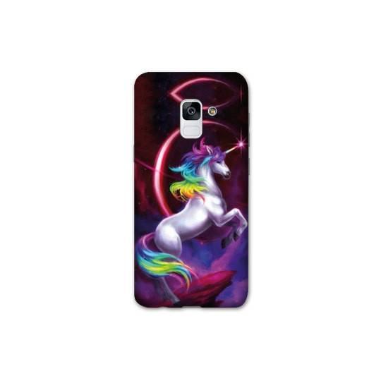 Coque Samsung Galaxy J6 PLUS - J610 Licorne