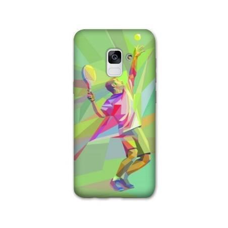 Coque Samsung Galaxy J6 PLUS - J610 Tennis