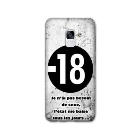 Coque Samsung Galaxy J6 PLUS - J610 Humour