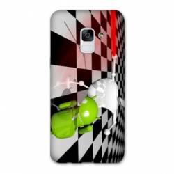 Coque Samsung Galaxy J6 PLUS - J610 apple vs android