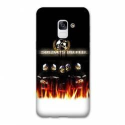 Coque Samsung Galaxy J6 PLUS - J610 pompier police