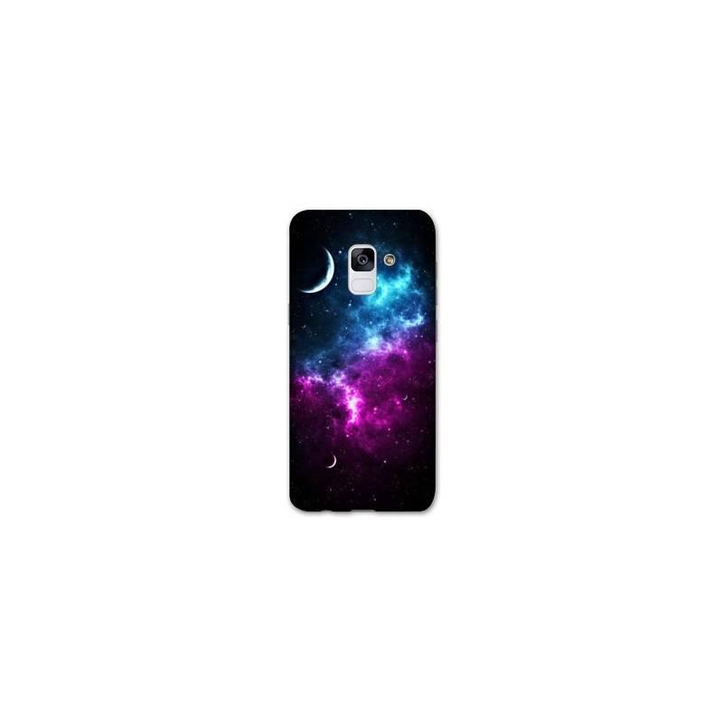 Coque Samsung Galaxy J6 PLUS - J610 Espace Univers Galaxie