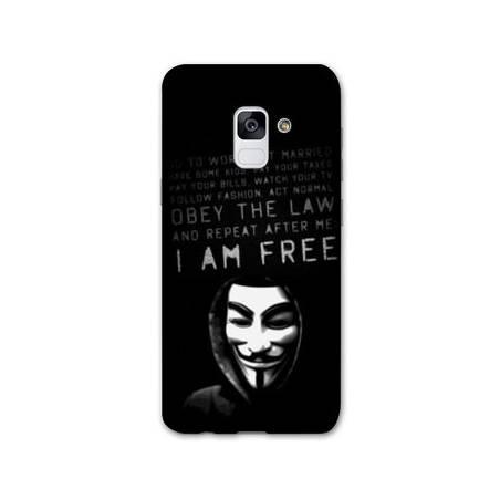 Coque Samsung Galaxy J6 PLUS - J610 Anonymous