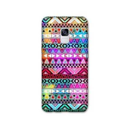 Coque Samsung Galaxy J6 PLUS - J610 motifs Aztec azteque