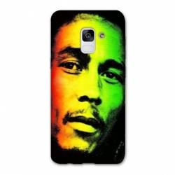 Coque Samsung Galaxy J6 PLUS - J610 Bob Marley