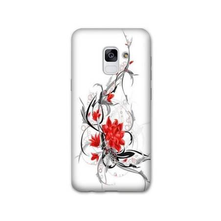 Coque Samsung Galaxy J6 PLUS - J610 fleurs