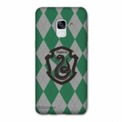 Coque Samsung Galaxy J6 PLUS - J610 WB License harry potter ecole Slytherin