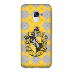 Coque Samsung Galaxy J6 PLUS - J610 WB License harry potter ecole Hufflepuff