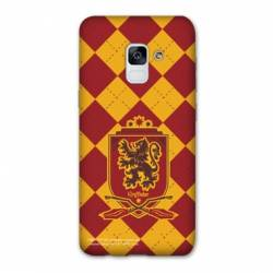 Coque Samsung Galaxy J6 PLUS - J610 WB License harry potter ecole Griffindor