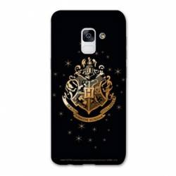 Coque Samsung Galaxy J6 PLUS - J610 WB License harry potter pattern Poudlard