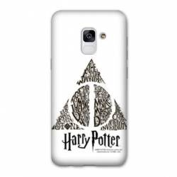Coque Samsung Galaxy J6 PLUS - J610 WB License harry potter pattern triangle Blanc