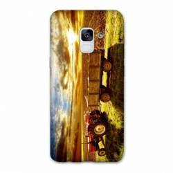 Coque Samsung Galaxy J6 PLUS - J610 Agriculture Tracteur color