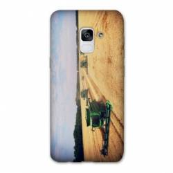 Coque Samsung Galaxy J6 PLUS - J610 Agriculture Moissonneuse