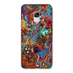 Coque Samsung Galaxy J6 PLUS - J610 Psychedelic Yeux