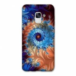 Coque Samsung Galaxy J6 PLUS - J610 Psychedelic Spirale