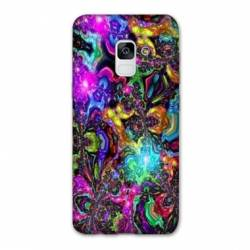 Coque Samsung Galaxy J6 PLUS - J610 Psychedelic colore