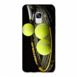 Coque Samsung Galaxy J6 PLUS - J610 Tennis Balls