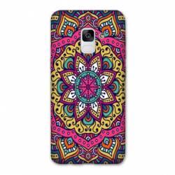 Coque Samsung Galaxy J6 PLUS - J610 Etnic abstrait Rosas rose