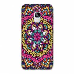 Coque Samsung Galaxy J6 PLUS - J610 Etnic abstrait Rosas rose