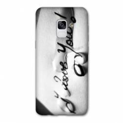 Coque Samsung Galaxy J6 PLUS - J610 I love you larme B