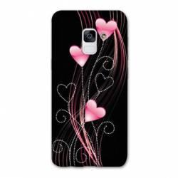 Coque Samsung Galaxy J6 PLUS - J610 Cœur rose Montant