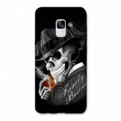 Coque Samsung Galaxy J6 PLUS - J610 tete de mort family business