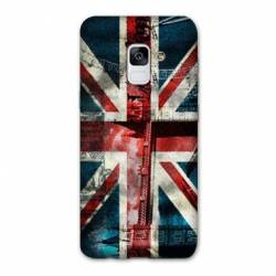 Coque Samsung Galaxy J6 PLUS - J610 Angleterre UK Jean's