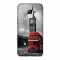 Coque Samsung Galaxy J6 PLUS - J610 Angleterre London Bus