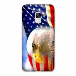 Coque Samsung Galaxy J6 PLUS - J610 Amerique USA Aigle