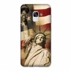 Coque Samsung Galaxy J6 PLUS - J610 Amerique USA Statue liberté