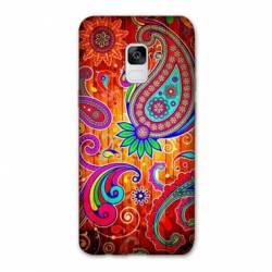 Coque Samsung Galaxy J6 PLUS - J610 fleur psychedelic